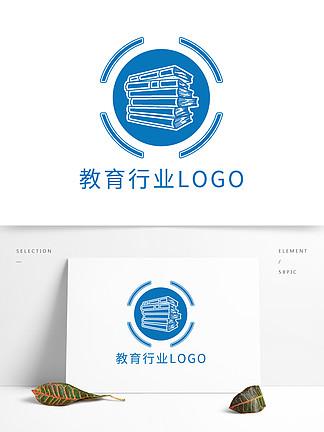 原創簡約創意教育行業logo