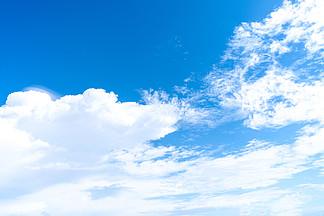 洞里萨湖高清蓝天?#33258;?#22825;空摄影图