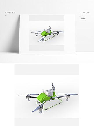 农业植保无人机模型