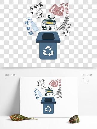 垃圾分类之可回收垃圾