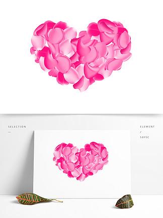 婚慶素材玫瑰花愛心素材