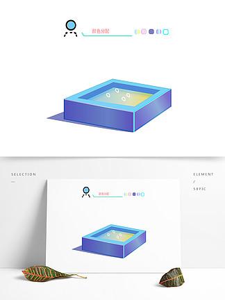 原創游泳池對話框