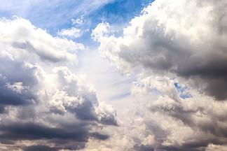 唯美天空藍天白云云彩高清攝影圖