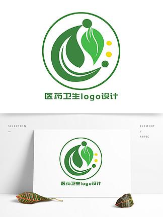 綠色健康醫藥衛生LOGO