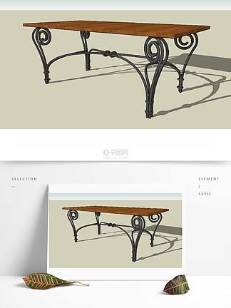 歐式家具草圖大師設計元素