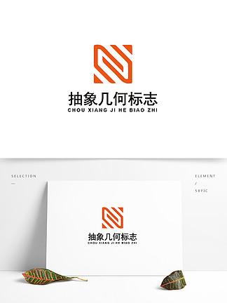 抽象几何科技logo