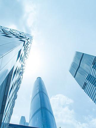 現代建筑城市高樓大廈