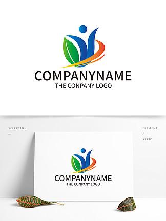 教育機構標識學校創意LOGO設計