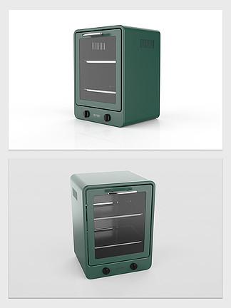 迷你小烤箱3D模型带高清效果图