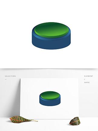 3D元素设计礼盒新颖水果按键设计图片