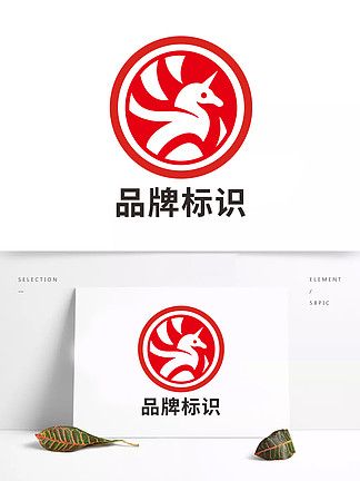 原创高端多乐士品牌企业大气标识标志设计