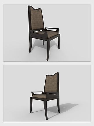 椅子餐椅家具3d模型