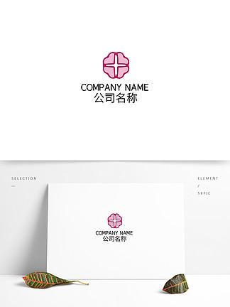 紅色花環女性養生美容logo