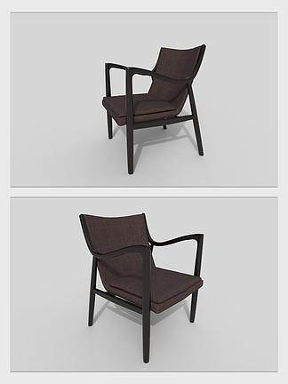 椅子凳子餐椅家具3d模型