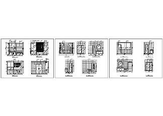 高檔公寓衛生間CAD施工圖