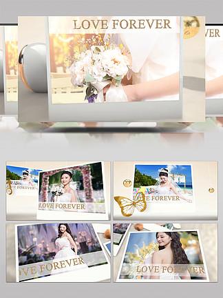 3D元素七夕浪漫婚礼纪念日视频动画