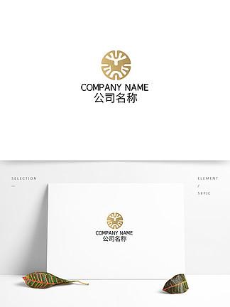 时尚艺术抽象图形logo