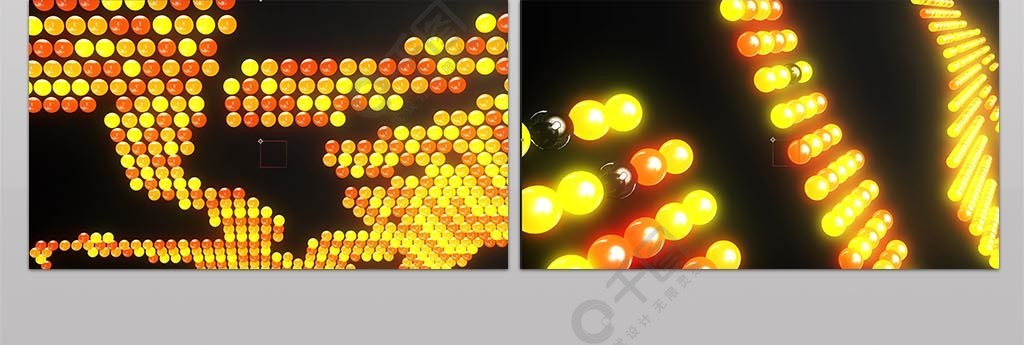 八一建军霓虹灯片头建军九十一周年纪念