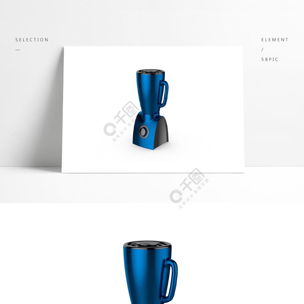 3D电器C4D水壶模型产品