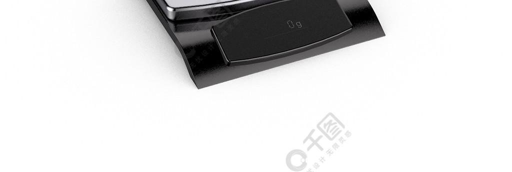 3D简约现代家用电器C4D电子秤模型产品