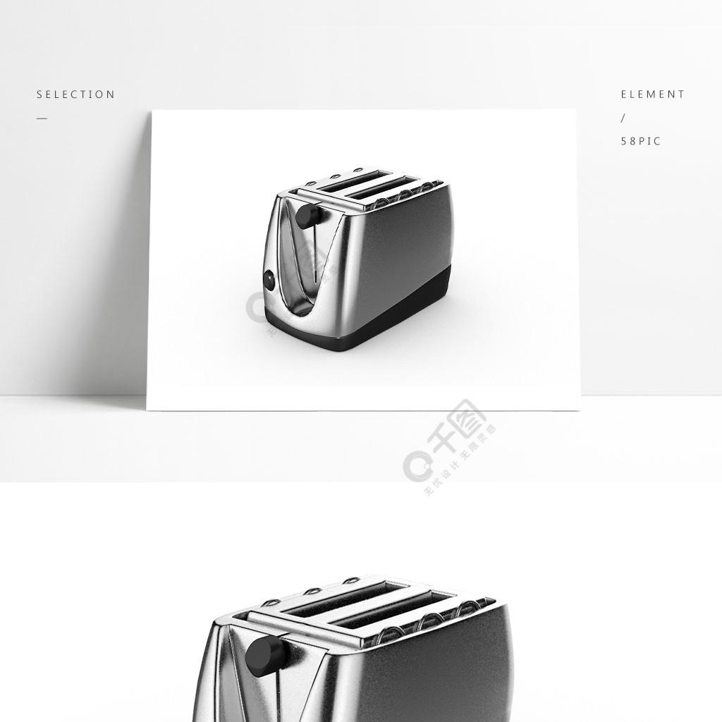 3D简约C4D烤面包机模型