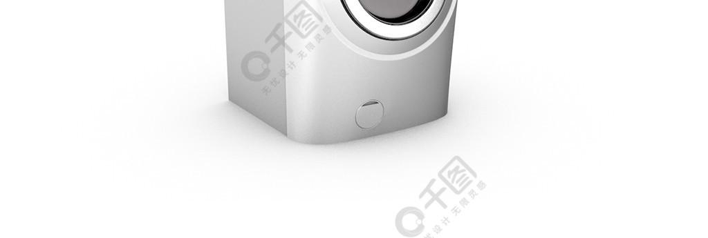 3D简约现代家用电器C4D洗衣机模型产品