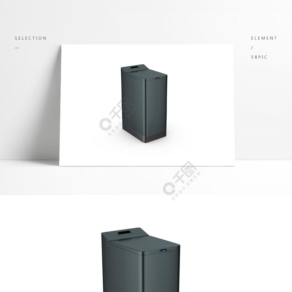 3D简约C4D洗衣机模型