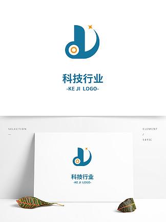 簡約時尚科技行業標志設計