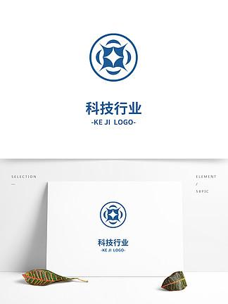 時尚科技行業標志設計