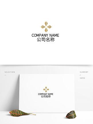 金屬漸變時尚科技公司logo