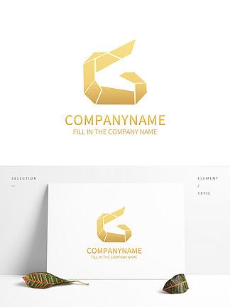 简约字母G英文logo标识设计