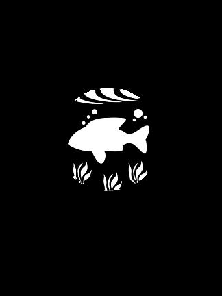 千图鱼家logo标识设计