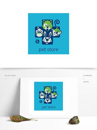 寵物店原創手繪logo
