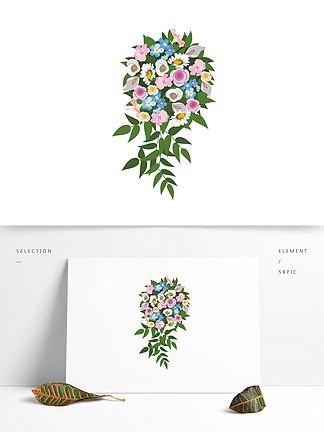 婚禮素材新娘手捧花