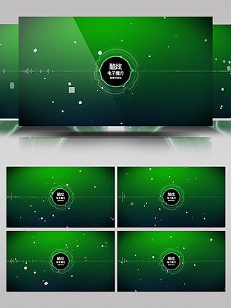 科技感音頻可視化AE模板2