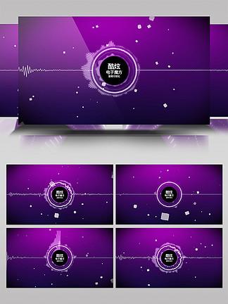 科技感音頻可視化AE模板3