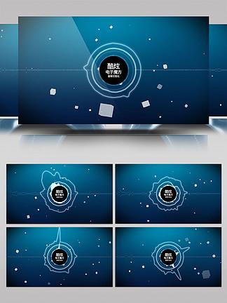 科技感音頻可視化AE模板4