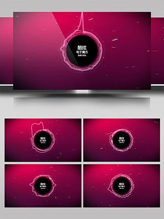 科技感音頻可視化AE模板5