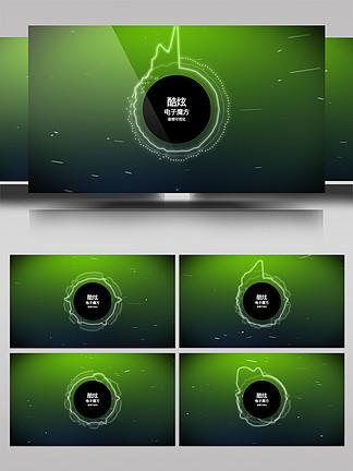 科技感音頻可視化AE模板6