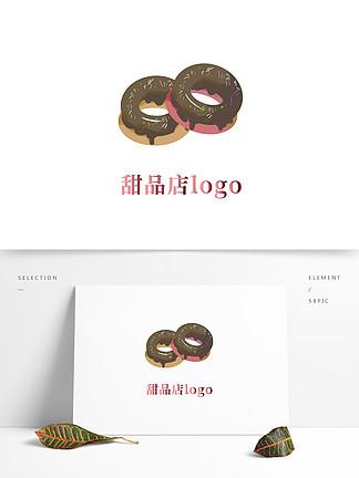 原創手繪甜品店logo