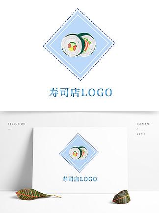 原創手繪壽司店logo