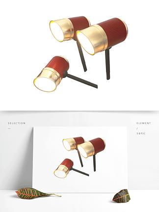 C4DOC渲染异形led灯具照明路灯模型