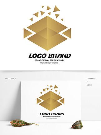 矢量简约建筑房产logo标志设计