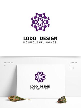 原創多媒體紫色logo