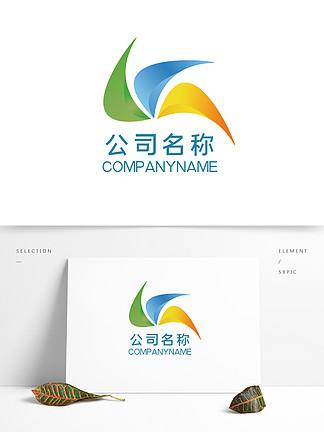 原創彩色漸變公司logo