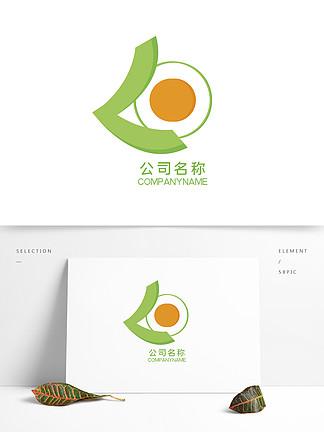 原創公司綠色簡約logo