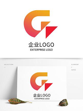 原創創意字母G企業科技公司LOGO標志