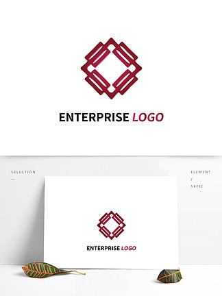 紅色大氣公司logo