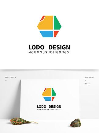 原創彩色藝術機構文化logo設計