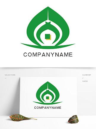 原創公司logo綠色